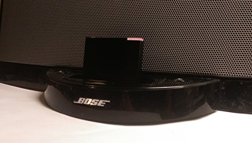 Bose Sounddock Iphone (luetooth Wireless Receiver Adapter für Bose Sounddock Series 1 Lautsprecher und Alle iPhone iPod Android Bluetooth-Gerät für Audio-Streaming, Schwarz)