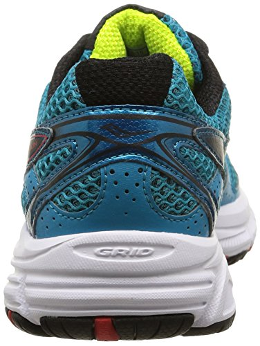 Saucony - Cohesion 8 - , homme, multicolore multicolore (Teal/Red/Citron)