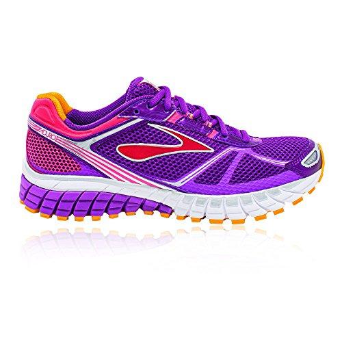 Brooks Aduro 3, Chaussures de Sport Femme, Magenta/Amarillo, 42.5 EU