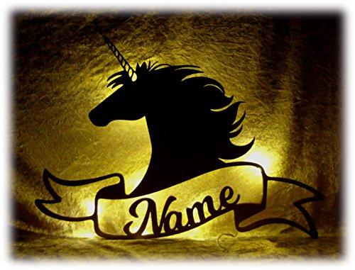Schlummerlicht 24 Geschenke mit Namen für Mädchen Einhorn Einhörner Pferdeliebhaber Pferdebesitzer Kinder Erwachsene Pferdefreunde