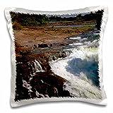 Danita Delimont - Kymri Wilt - Waterfalls - Africa, Zimbabwe. Victoria Falls, The Smoke that Thunders. - 16x16 inch Pillow Case (pc_188734_1)