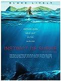 INSTINCT DE SURVIE Affiche Cinéma Originale (Format 160x120 cm pliée) Blake Lively
