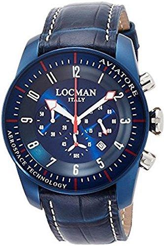Locman 0450BLBLFWRBPSB Montre à bracelet pour homme