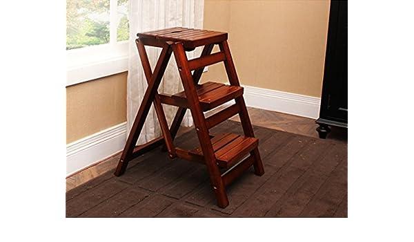 Zcjb sgabello per scale scaletta sgabello scaletta in legno