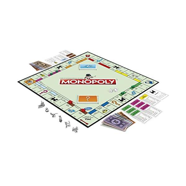 Monopoly - Classico (gioco in scatola Hasbro Gaming) 3 spesavip