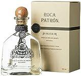 Patron Roca Silver Tequila de Agave mit Geschenkverpackung (1 x 0.7 l)