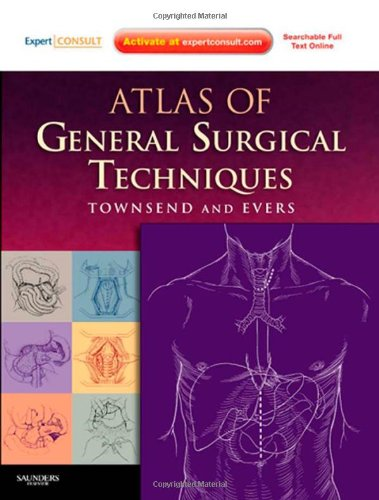 Atlas of General Surgical Techniques: Expert Consult - Online and Print, 1e