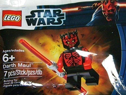 LEGO Star Wars: Nackter Oberkörper Darth Maul Minifiguren (Exklusiv) Setzen 5000062 (Beutel)