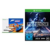 Xbox One S 500GB Konsole + Forza Horizon 3 + Hot Wheels DLC + Star Wars Battlefront II - [Xbox One]