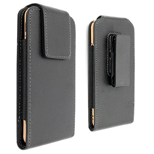 Leder Handytasche Ledertasche Gürteltasche mit Gürtelclip für iPhone 6S Plus iphone 7 Plus Samsung Galaxy Note 5 Blackberry 8300 HTC One Max Sony Xperia Z3 Z5
