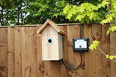 Bird Box with Wireless Camera by Gardenature
