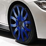 CM DESIGN MIKA Blau Schwarz - 15 Zoll, passend für Fast alle FIAT z.B. für FIAT Grande Punto EVO Typ 199 für CM DESIGN MIKA Blau Schwarz - 15 Zoll, passend für Fast alle FIAT z.B. für FIAT Grande Punto EVO Typ 199