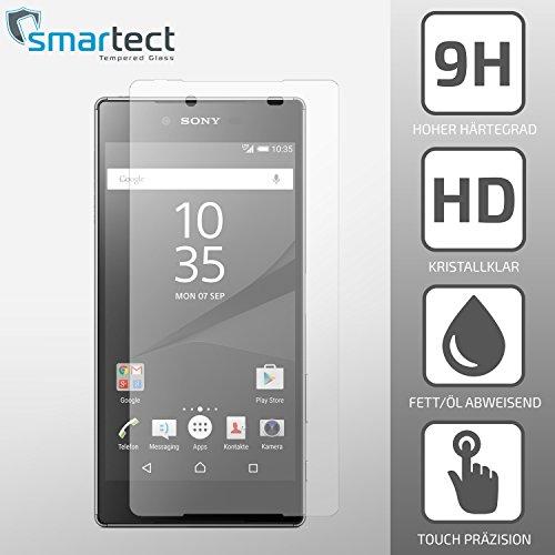 smartect® Sony Xperia Z5 COMPACT / MINI Panzerglas Display-Schutzfolie aus...