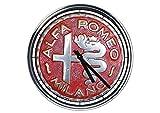 Wanduhr Mit Alfa Romeo Weinlese 2