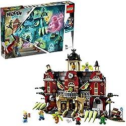 LEGO - Hidden Side Instituto Encantado de Newbury Juguete de construcción con realidad aumentada e interactivo, incluye edicifio y figuras de fantasmas, Novedad 2019 (70425)