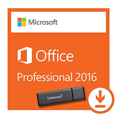 Microsoft Office Professional Plus 2016 |1 PC | USB-STICK und Aktivierungsschlüssel 32/64 bit