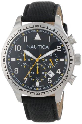 Nautica N16577G - Reloj de pulsera unisex, Poliuretano, color Negro