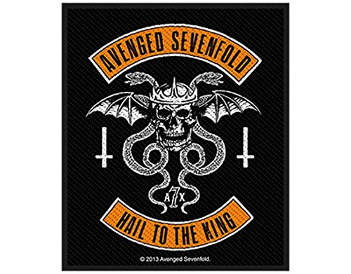 Avenged Sevenfold - Hail to the King Biker - Toppa/Patch