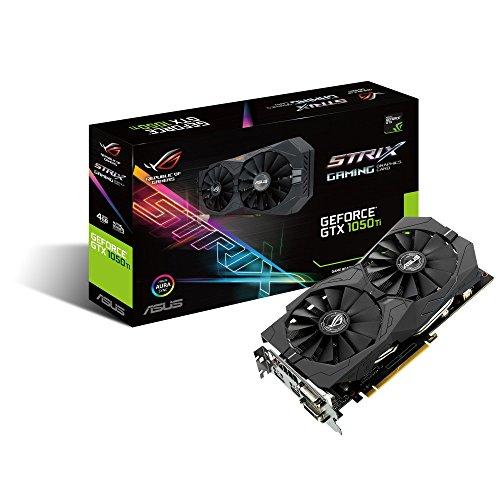 ASUS Geforce GTX 1050Ti 4GB ROG Strix OC Edition HDMI 2.0 DP 1.4 Gaming Grafikkarte GTX 1050 TI -