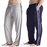 Long Pour Hommes Vêtement De Détente Pantalon Pyjama (pack 2) ...