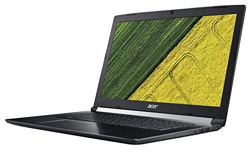 Acer Aspire 7 A717 71G 70Z6 439 cm 173 Zoll utmost HD IPS matt Gaming Notebook Intel heart i7 7700HQ 16GB RAM 256GB SSD 1TB HDD GeForce GTX 1060 6GB GDDR5 VRAM Win 10 schwarz Notebooks