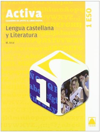 Activa. Cuaderno de apoyo al libro digital. Lengua castellana 1º ESO - 9788430788705