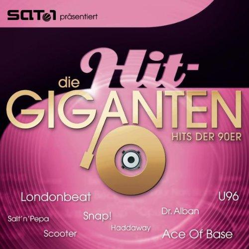 Die Hit Giganten - Hits der 90er (Jahre 80er Top-hits)