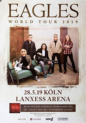 Premium Poster/Plakat   DIN A1   Live Konzert Veranstaltung » Eagles - World Tour, Köln 2019 « (Soul Köln)