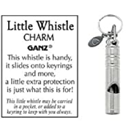 Ganz Little Whistle Charm For decoration and Protection Size: 1 1/2 inches long