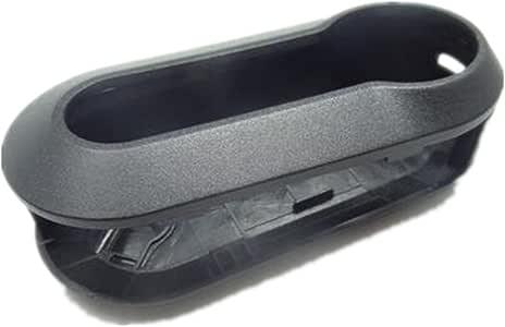 Happyit Silicone Car Key Cover Case for Fiat 500 Panda Punto Bravo 3 Buttons Flip Remote Control Accessories Red