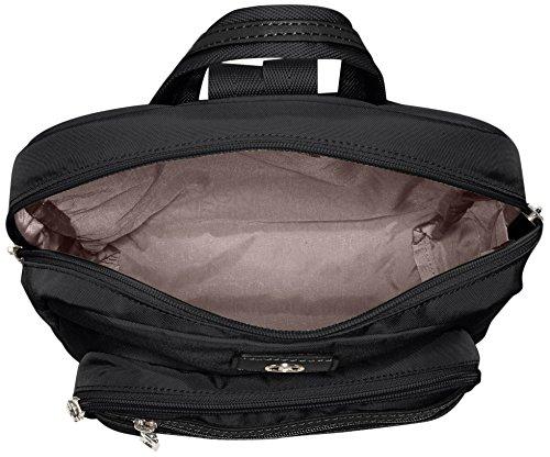 Bogner - Backpack 3, Borsa a mano/zaino Donna Nero (Black/black)
