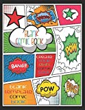 Blank Comic Book, Create Your Own Comic Book, Blank Template Comic Book: Awesome Fun for Adults and Children | 8. 5 X 11 Inch Sketchbook | 100 Pages