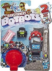 Transformers Botbots - Pack de 8 Figuras (Hasbro E3494EU4), Modelos Aleatorios