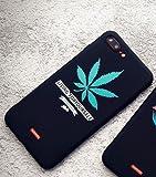 Générique Coque iPhone 7 et iPhone 8 Supreme Noir Living for Yourself Cannabis...