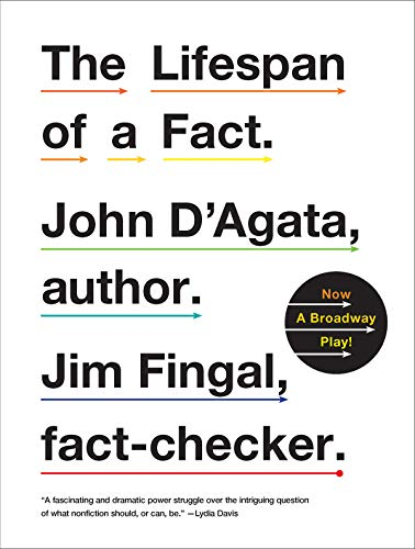 The Lifespan of a Fact por John D'Agata