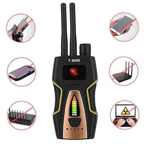 Hangang Anti-spy detector signaal RF signaaldetector bug spy- camera detector GPS signaal detector voor verborgen camera apparaat finder -