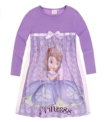 Disney Sofia die Erste Mädchen Nachthemd - violett - 110 (Sofia Die Erste Kleider)