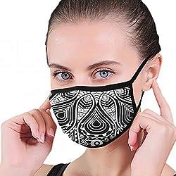Dekorative runde Spitze Abbildungen Clip Art Maske halbes Gesicht Mund-muffel Mode Motorrad Anti Staub kostüm Mode Maske
