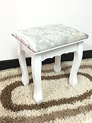 Dressing Table Stool Padded Make Up Stand Piano Seat Shabby Chic Vintage Retro ? NIGHTINGALE RANGE ? PREMIUM QUALITY ? * NEW * STOCK JUST ARRIVED ? - inexpensive UK light store.