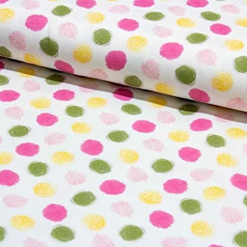 24949bc2f16038 Rosa Punkte und weitere Muster - Stoffe online auf Stoff123.de