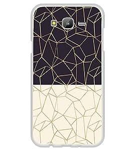 Black and White Zig Zag Pattern 2D Hard Polycarbonate Designer Back Case Cover for Samsung Galaxy J7 J700F (2015 OLD MODEL) :: Samsung Galaxy J7 Duos :: Samsung Galaxy J7 J700M J700H