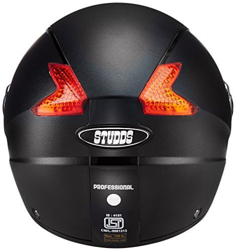 Studds-Professional-Full-Face-Helmet-Black