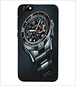 PrintDhaba Watch D-5142 Back Case Cover for HUAWEI HONOR 4X (Multi-Coloured)