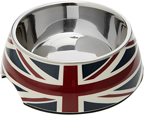 Dogit Union Flag 2-in-1 Dog/Cat Bowl, 350ml