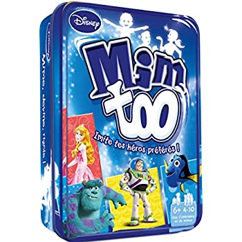 Asmodee MIMTD01 - Jeu d'Ambiance - Mimtoo Disney