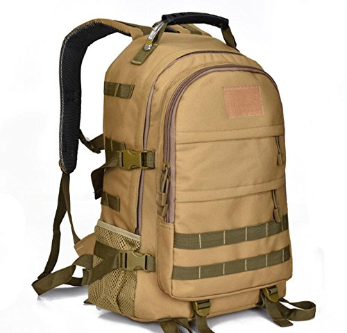 ShangYi Borsa all'aperto alpinismo Camo tactical bag + tracolla viaggio 28L , Black White Khaki