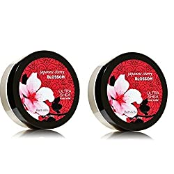 Bath & Body Works Japanese Cherry Blossom Gift Set Body Butter Lot of 2