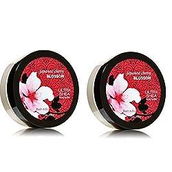 Bath & Body Works Japanese Cherry Blossom Gift Set Body Butter Lot of 2