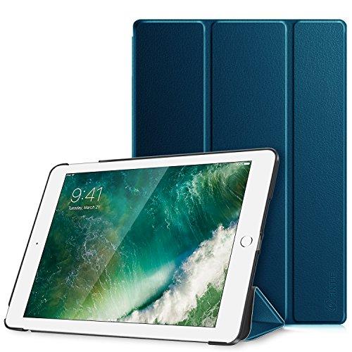 Fintie Nuovo iPad 9.7 Pollici 2018 2017, iPad Air 2, iPad Air Custodia - Sottile Leggero Cover Protettiva Case con Auto Sveglia/Sonno funzione, Blu