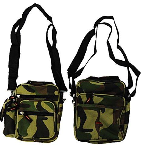 2er Pack Umhängetasche Camouflage